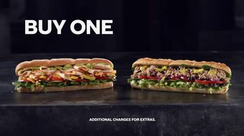 Subway App TV Spot, 'Buy One Footlong, Get One Free' - Thumbnail 4