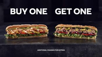 Subway App TV Spot, 'Buy One Footlong, Get One Free' - Thumbnail 5