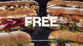 Subway App TV Spot, 'Buy One Footlong, Get One Free' - Thumbnail 8