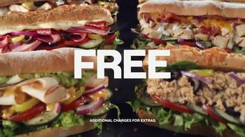 Subway App TV Spot, 'Buy One Footlong, Get One Free' - Thumbnail 9