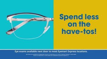 Eyemart Express TV Spot, 'Tax Refund' - Thumbnail 3