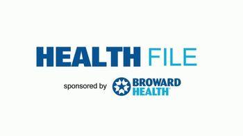 Broward Health TV Spot, 'Health File: Chest Discomfort' - Thumbnail 1