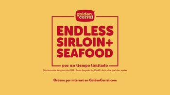 Golden Corral Endless Sirloin + Seafood TV Spot, 'Por un tiempo limitado' canción de Alvin Cash [Spanish] - Thumbnail 10