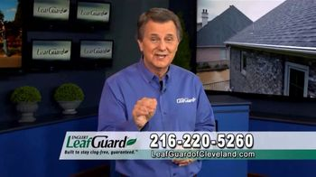 LeafGuard of Cleveland Winter Half Off Sale TV Spot, 'Costly Repairs: $25 Gas Card'