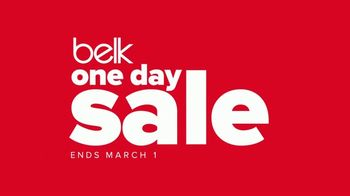 Belk One Day Sale TV Spot, 'Luggage Collections and Shoes' - Thumbnail 2