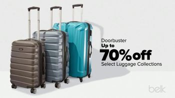 Belk One Day Sale TV Spot, 'Luggage Collections and Shoes' - Thumbnail 4