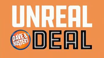 Dave and Buster's Unreal Deal TV Spot, 'For Real: Eight Games Free'