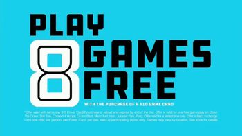 Dave and Buster's Unreal Deal TV Spot, 'For Real: Eight Games Free' - Thumbnail 4