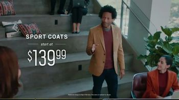 Men's Wearhouse Polished Casual Event TV Spot, 'Sport Coats and Designer Suits' - Thumbnail 4