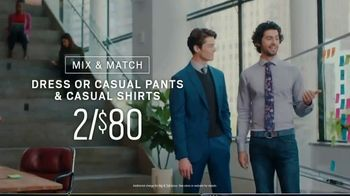 Men's Wearhouse Polished Casual Event TV Spot, 'Sport Coats and Designer Suits' - Thumbnail 7
