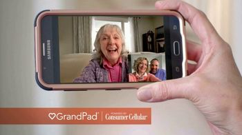 GrandPad TV Spot, 'Holidays: Staying Close: $25 Credit'