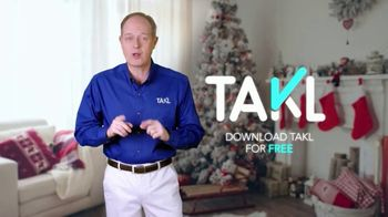 Takl TV Spot, 'Holiday Help' - Thumbnail 9