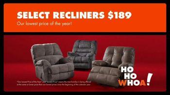 Big Lots Big Black Friday Sale TV Spot, 'Ho-Ho-Whoa: Recliners' - Thumbnail 4