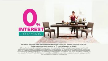Ashley HomeStore Black Friday Sale TV Spot, 'Up to 50 Percent Off: Gift Card' Song by Midnight Riot - Thumbnail 4