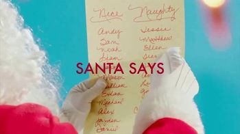 Fascinations TV Spot, 'Santa Says'