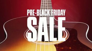 Guitar Center Pre-Black Friday Sale TV Spot, 'Taylor Rosewood and Gibson Les Paul' - Thumbnail 2