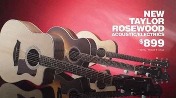 Guitar Center Pre-Black Friday Sale TV Spot, 'Taylor Rosewood and Gibson Les Paul' - Thumbnail 5
