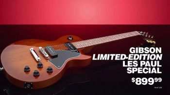 Guitar Center Pre-Black Friday Sale TV Spot, 'Taylor Rosewood and Gibson Les Paul' - Thumbnail 9