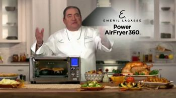 Emeril Everyday Power AirFryer 360 TV Spot, 'Holidays: Acorn Turkey Pot Pie'