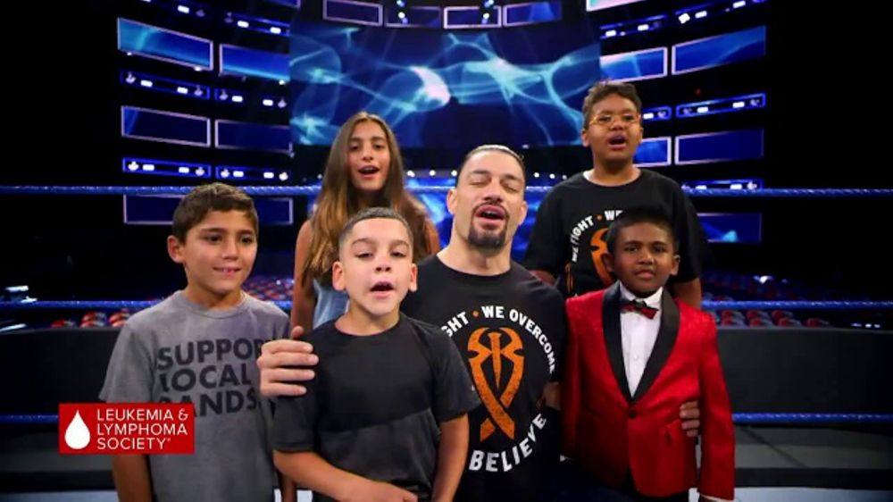 The Leukemia & Lymphoma Society TV Commercial, 'Children's Initiative' Featuring Roman Reigns