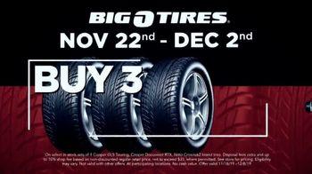 Big O Tires Big Black Friday Savings TV Spot, 'Buy Three, Get One Free' - Thumbnail 4