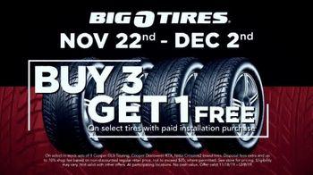 Big O Tires Big Black Friday Savings TV Spot, 'Buy Three, Get One Free' - Thumbnail 5