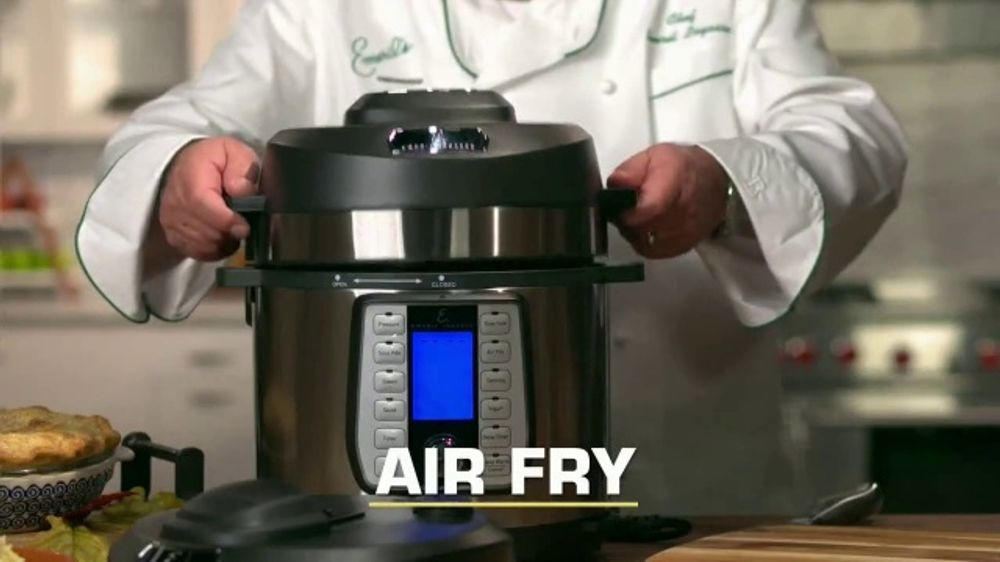 Emeril Lagasse Pressure Airfryer Tv Commercial This