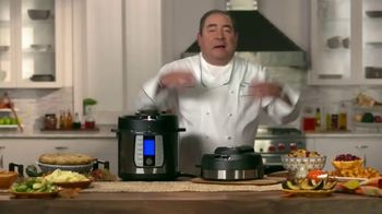 Emeril Lagasse Pressure AirFryer TV Spot, 'This Holiday'