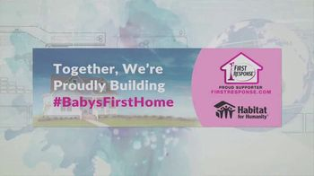 First Response TV Spot, 'Habitat For Humanity: Proudly Building Baby's First Home' - Thumbnail 8