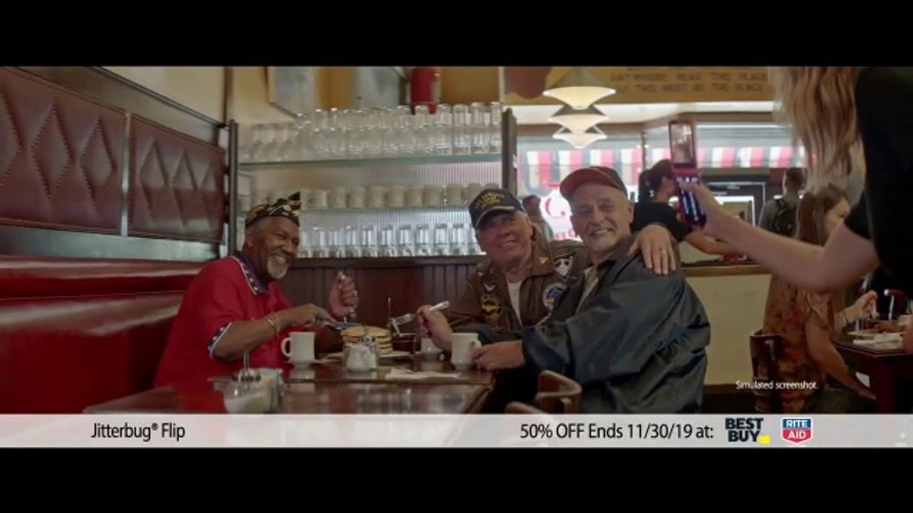 Greatcall Jitterbug Flip Tv Commercial Black Friday 50 Percent Off Ispot Tv
