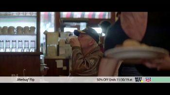 GreatCall Jitterbug Flip TV Spot, 'Black Friday: 50 Percent Off' - Thumbnail 1