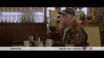 GreatCall Jitterbug Flip TV Spot, 'Black Friday: 50 Percent Off' - Thumbnail 3