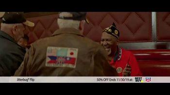 GreatCall Jitterbug Flip TV Spot, 'Black Friday: 50 Percent Off' - Thumbnail 4