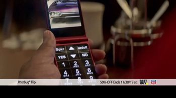 GreatCall Jitterbug Flip TV Spot, 'Black Friday: 50 Percent Off' - Thumbnail 5