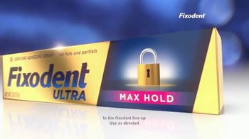 Fixodent Ultra Max Hold TV Spot, 'Lock Your Dentures: $2.50' - Thumbnail 6