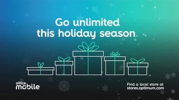 Altice Mobile TV Spot, 'Holidays: Unlimited'