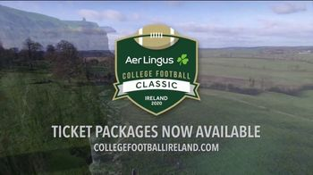Aer Lingus TV Spot, 'College Football Classic: Navy vs. Notre Dame' - Thumbnail 10