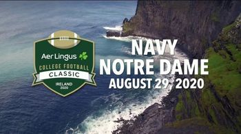 Aer Lingus TV Spot, 'College Football Classic: Navy vs. Notre Dame' - Thumbnail 5