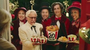 KFC $20 Fill Up TV Spot, 'Holidays: Carolers' - 7068 commercial airings