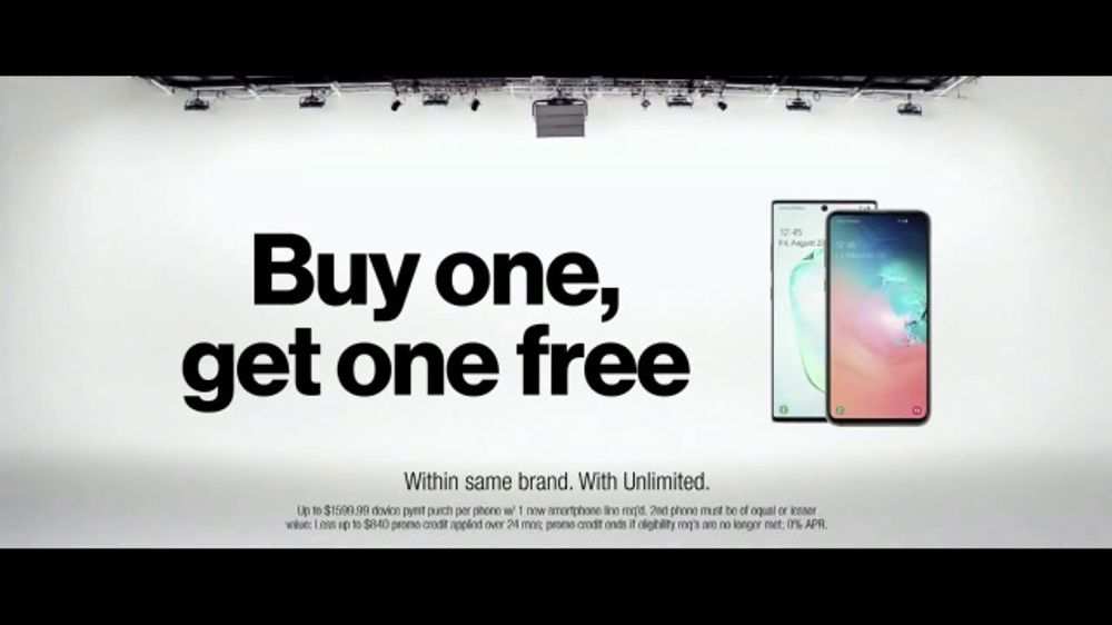 Verizon TV Commercial, 'Live Music and Sports: Best Phones BOGO With VerizonUp'