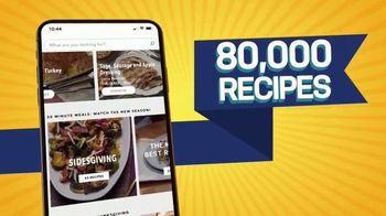 Food Network Kitchen App TV Spot, 'ThanksWinning' - Thumbnail 3