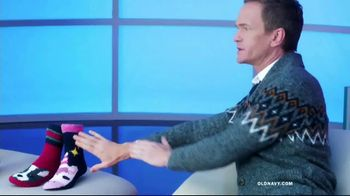 Old Navy TV Spot, 'Cozy Socks: 50 Percent Off' Featuring Neil Patrick Harris - Thumbnail 4