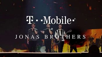 T-Mobile TV Spot, 'Jonas Brothers Happiness Begins Tour' Featuring Jonas Brothers - Thumbnail 1
