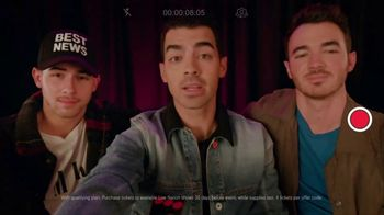 T-Mobile TV Spot, 'Jonas Brothers Happiness Begins Tour' Featuring Jonas Brothers - Thumbnail 4