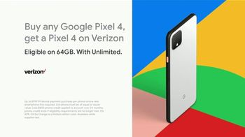 Google Pixel 4 TV Spot, 'Verizon: Motion Sense' Song by 3 One Oh - Thumbnail 10