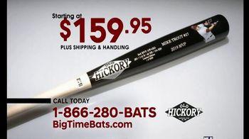 Big Time Bats TV Spot, 'Mike Trout 2019 AL MVP Old Hickory Game Model Art Bat' - Thumbnail 5