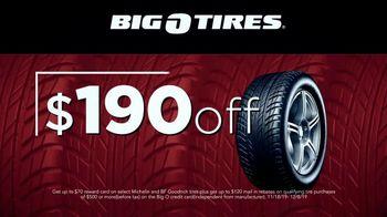 Big O Tires Big Black Friday Savings TV Spot, 'Buy Three, Get One Free: $190 Off' - Thumbnail 6