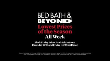 Bed Bath & Beyond Black Friday TV Spot, 'For the House' - Thumbnail 9