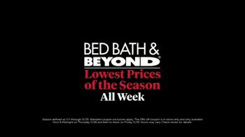 Bed Bath & Beyond Black Friday TV Spot, 'For the House' - Thumbnail 8