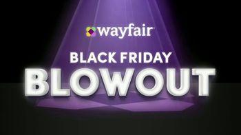 Wayfair Black Friday Blowout TV Spot, '2019 Black Friday' - 1148 commercial airings